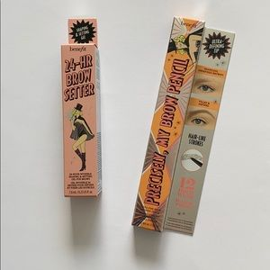Benefit precisely, my brow pencil and 24-hr gel